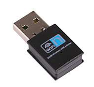 cheap -Mini USB Wifi Receiver Wireless Adapter RTL8192 300Mbps