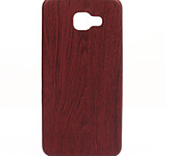 Wood Thin Slim Fit and Snugly Soft Leather Phone Case for Galaxy A310/A510/A710(2016)