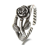 cheap -Sterling Silver / Silver Band Ring - Vintage / Punk Silver Ring For Daily / Casual