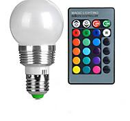 cheap -E27 85V-265V 100-200Lm 3W RGB Remote Control LED Colorful Bulbs