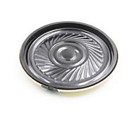 abordables -8ohm 0.5W 35mm altavoz de bricolaje - negro + bronce