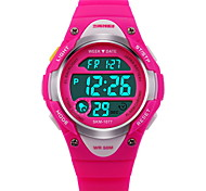 cheap -SKMEI Children's Digital Watch Fashion Watch Sport Watch Digital Alarm Calendar / date / day Chronograph Water Resistant / Water Proof