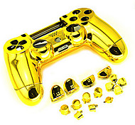 cheap -Housing Controller Game Shell Polished Glossy Plating Case Part Skin Cover Controller for PS4 Controller