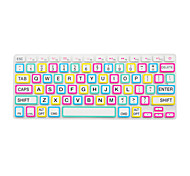 cheap -Bright Color Frame Silicone Keyboard Cover Skin for Macbook Air 13.3/Macbook Pro 13.3 15.4,US version
