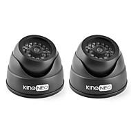 kingneo kd102 лг Муляж камеры видеонаблюдения смоделированы купол камеры 2pcs черный