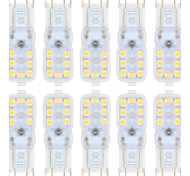 1.5W G9 LED Bi-pin Lights T 14 leds SMD 2835 Dimmable Warm White Cold White 150-200lm 3000/6000K AC 220-240 AC 110-130V