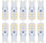 ywxlight® 1.5w g9 led luces bi-pin 14smd 2835 regulable blanco cálido blanco frío 150-200lm ac 220-240 ac 110-130v