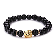 cheap -New Arrival Nature Stone Buddha Strand Bracelets Daily / Casual 1pc Hot Sale #YMGS1010 Christmas Gifts