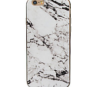 For iPhone 7 Plus Creative Art Painted Marble Relief TPU Phone Case for iPhone 5/5S/SE/6/6S/6S Plus/6S Plus