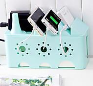 Недорогие -Гаджеты для намотки кабеля Деловые / Многофункциональные,Пластик