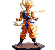 18CM Dragon Dall Z Action Figures Super Saiyan Son Goku PVC Collectible Toy Model