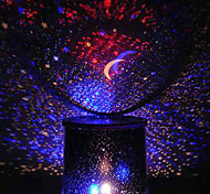 cheap -Color-changing Star Beauty Starry Sky Projector Night Light (3xAA, Random Color)