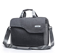 "cheap -Bag for Macbook Pro 15.4"" Solid Color Textile Material Fashion Big Capacity Laptop Briefcase Waterproof Shockproof Shoulder Handle Bag"