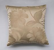 Satin Jacquard Cushion Cover-Golden