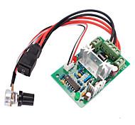 120w PWM реверсивный переключатель регулятора скорости двигателя постоянного тока в прямом / обратном переключатель