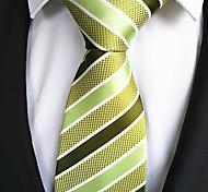 Модно Желтый / Зеленый Ткань Мужчины Tie Bar-1шт