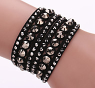The New Bracelet Lady Fashion Multilayer Hot Diamond Bracelet