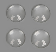 Beadia 30Pcs 16mm Flat Round Transparent Glass Cabochon For Earring Bracelet Necklace Jewelry Making
