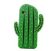 3D Cactus Silicone Case for iPhone 7 7 Plus 6s 6 Plus SE 5s 5
