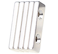 cheap -5 pcs 40*12*5mm Magnet Toy Building Blocks / Puzzle Cube / Neodymium Magnet Magnet Adults' Gift