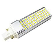 12W E14 G23 G24 E26/E27 LED Bi-pin Lights T 44 SMD 5050 900-1000 lm Warm White Cold White 3000/6000 K Decorative AC 85-265 AC 220-240 AC