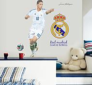 Недорогие -Спорт Наклейки Простые наклейки Декоративные наклейки на стены,PVC материал Съемная Украшение дома Наклейка на стену