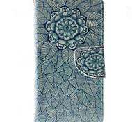 Для Кейс для HTC Кошелек / Бумажник для карт / со стендом / Флип Кейс для Чехол Кейс для Мандала Твердый Искусственная кожа HTCHTC Desire