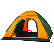 3-4 человека Световой тент Один экземляр Палатка Однокомнатная Автоматический тент Влагонепроницаемый Хорошая вентиляция