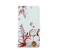 cheap -Flower Pattern PU Leather Full Body Case with Stand and Card Slot for LG G4 Stylus/G3 Stylus/G4 mini/G3 mini