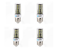 6W E14 G9 GU10 B22 E26/E27 LED Corn Lights B 80 SMD 5733 550-600 lm Warm White Cold White K Decorative AC 220-240 V