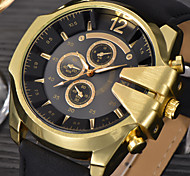 Big Mens Brand Leather Hours Male Sports Military Army Reloj Hombre Relogio Masculino montres de marque de Luxe Watch