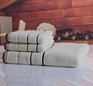 Свежий стиль Набор банных полотенец,Окрашенная пряжа Высшее качество 100% хлопок Вязь Полотенце