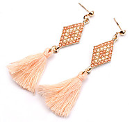 New Charm Bohemian Vintage Geometric Long Tassel Earrings For Women Statement Dangle Earrings Jewelry