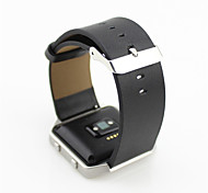 Leather Strap For Fitbit Blaze, Smart Fitness Watch Band Replacement Black Blue Grey Brown Fitbit Blaze Watch Strap