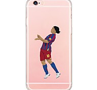 Sports Stars Pattern TPU Ultra-thin Ranslucent Soft Back Cover for iPhone 6s Plus/6 Plus/ 6s/6/ SE/5s/5