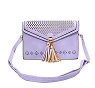 Pouch portafoglio / A portafoglio / Capovolgere / A fantasia Fiore decorativo Similpelle Morbido Neck Strap Bag Case Copertura di caso per