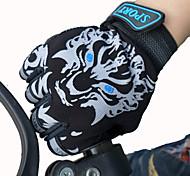 Недорогие -Перчатки для велосипедистов Лыжные перчатки Детские Без пальцев Анти-скольжение холст Велосипедный спорт / Велоспорт Лето