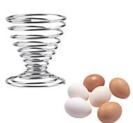 cheap -Stainless Steel Creative Kitchen Gadget Egg Bracket
