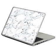 White Marble Scratch Proof PVC Sticker For MacBook Air 11 13/Pro13 15/Pro with Retina13 15/MacBook 12