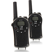 Durable Walkie Talkies Easy To Use and Kids Friendly 2~3 Mile Range FRS/GMRS Handheld Two Radios 22 Channels (1 Pair)