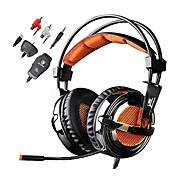 Sades Magic Crystal Cascos(cinta)ForReproductor Media/Tablet / ComputadorWithCon Micrófono / DJ / Control de volumen / Radio FM / De