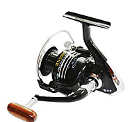 FISHDROPS BSLGH7000 4.7:1, 13 Ball Bearings One Way Clutch Spinning Fishing Reel, Right & Left Hand Exchangable