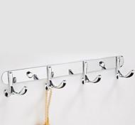 Недорогие -Крючок для халата Современный Нержавеющая сталь 1 ед. - Гостиничная ванна
