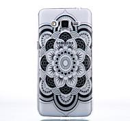 TPU Material Datura Flowers Pattern Cellphone Case for Samsung Galaxy J7/J510/J5/J310/G530/G360