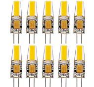 economico -1.5W G4 Luci LED Bi-pin T 1 leds COB Impermeabile Decorativo Bianco caldo Luce fredda Bianco 150-200lm 3000-6000K AC 12 AC 24 DC 24