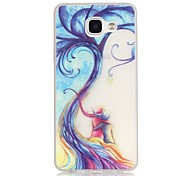 Love Tree TPU Material Glow in the Dark Soft Phone Case for Samsung Galaxy A310/A510(2016)