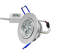 LED даунлайт 270-300lm lm Тёплый белый / Холодный белый COB Регулируемая AC 85-265 V 1 ед.
