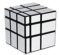 cheap -Rubik's Cube Shengshou Mirror Cube 3*3*3 Smooth Speed Cube Magic Cube Puzzle Cube Professional Level Speed Mirror New Year Children's Day