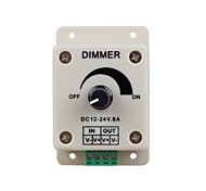 cheap -LED Lights Dimmer Switch for Led Strip Light or Led Lamp (DC 12-24V 8A)