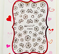 Недорогие -1 3D-стикеры для ногтей Цветы Абстракция Мода Повседневные Высокое качество